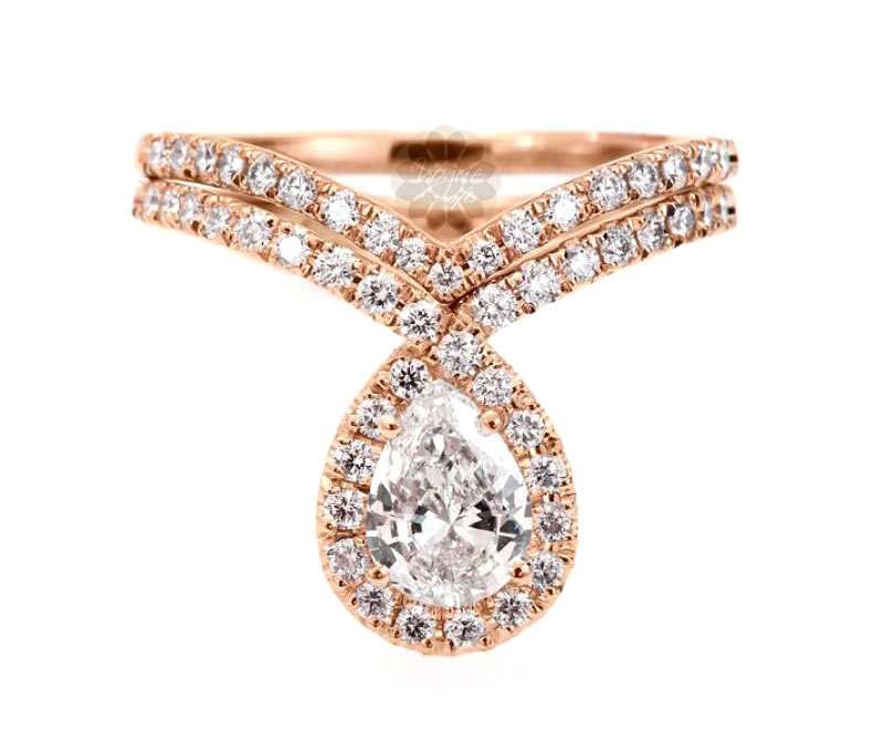 Vogue Crafts & Designs Pvt. Ltd. manufactures Classic Rose Gold Ring at wholesale price.