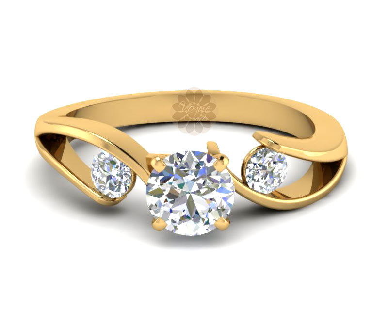 Vogue Crafts & Designs Pvt. Ltd. manufactures Designer Diamond and Gold Ring at wholesale price.