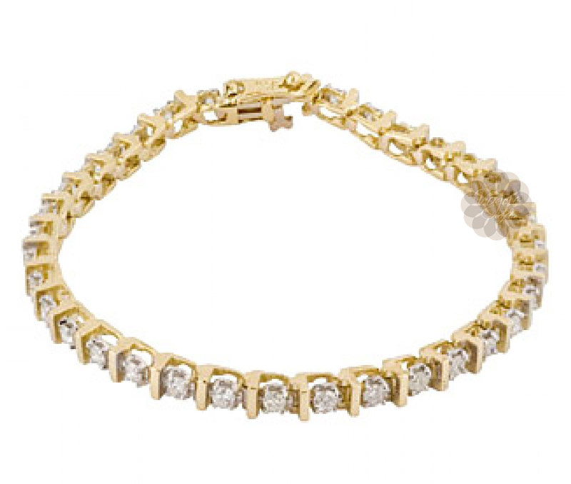 Vogue Crafts & Designs Pvt. Ltd. manufactures Luminous Gold and Diamond Anklet at wholesale price.