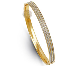 Vogue Crafts and Designs Pvt. Ltd. manufactures Traditional Gold Bangle at wholesale price.