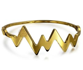 Vogue Crafts and Designs Pvt. Ltd. manufactures Contemporary Gold Bangle at wholesale price.