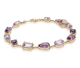 Vogue Crafts and Designs Pvt. Ltd. manufactures Vintage Gold Bracelet at wholesale price.