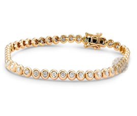 Vogue Crafts and Designs Pvt. Ltd. manufactures Round Diamond Bracelet at wholesale price.