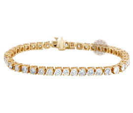 Vogue Crafts and Designs Pvt. Ltd. manufactures Classic Diamond Bracelet at wholesale price.