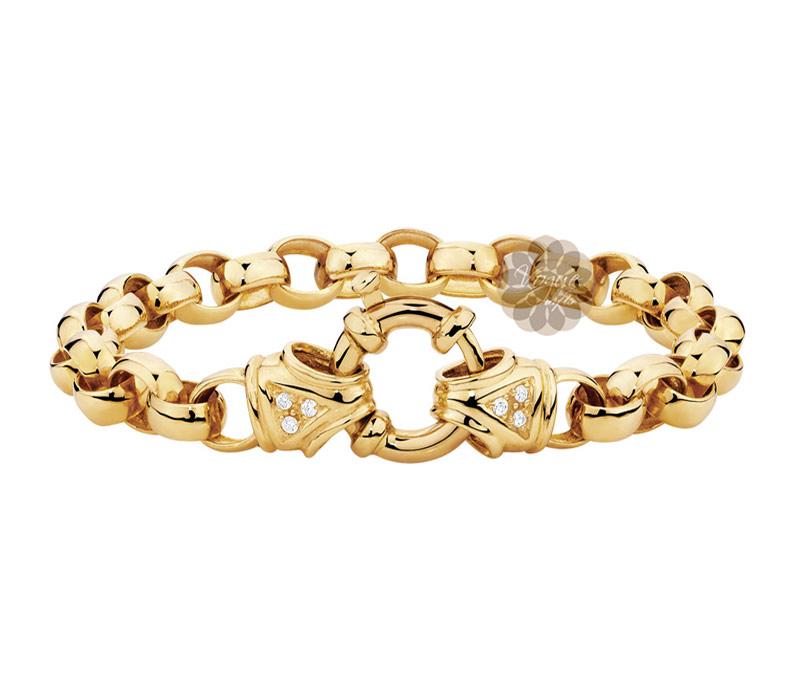 Vogue Crafts & Designs Pvt. Ltd. manufactures Gold Belcher Bracelet at wholesale price.