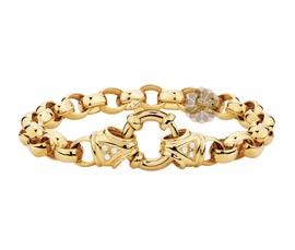 Vogue Crafts and Designs Pvt. Ltd. manufactures Gold Belcher Bracelet at wholesale price.