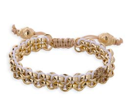Vogue Crafts and Designs Pvt. Ltd. manufactures Gold Knot Bracelet at wholesale price.
