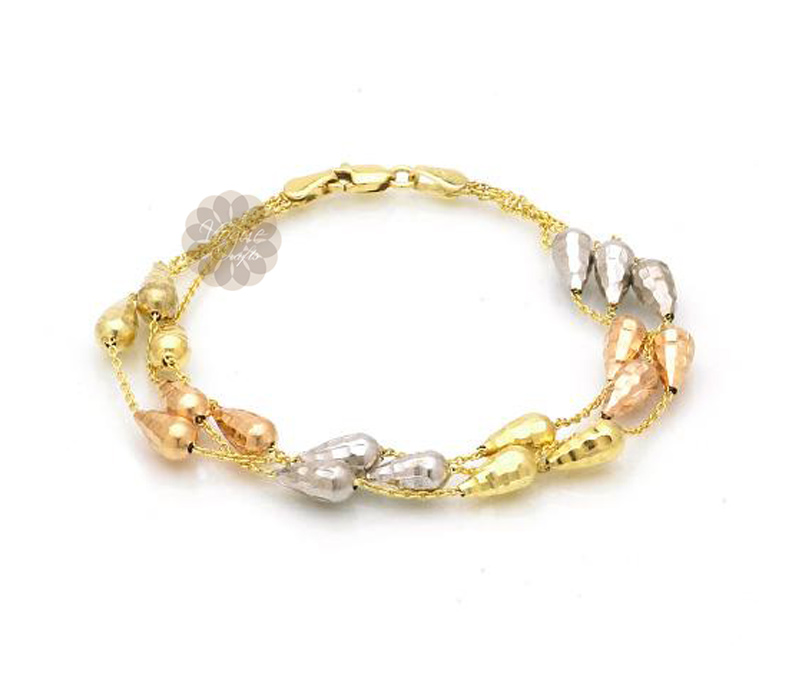 Vogue Crafts & Designs Pvt. Ltd. manufactures Layered Gold Bracelet at wholesale price.