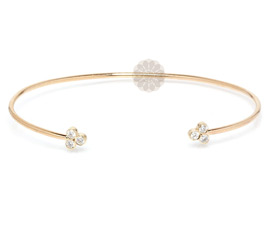 Elegant Diamond Cuff