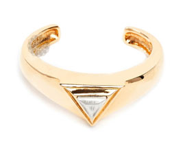 Triangle Diamond Cuff