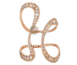 Designer Diamond Cuff