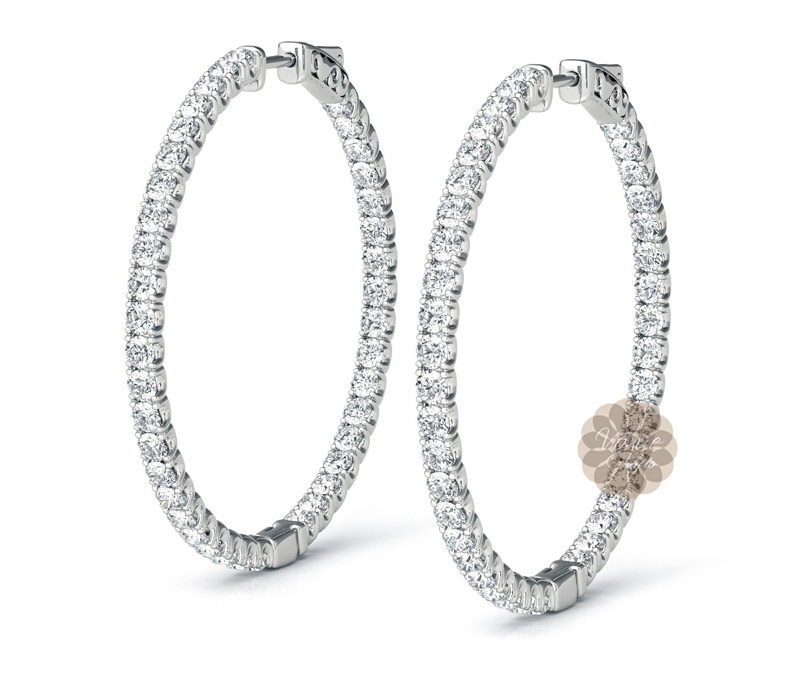 Vogue Crafts & Designs Pvt. Ltd. manufactures Diamonds for Daughter Earrings at wholesale price.