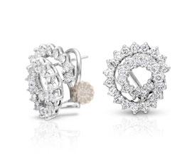 Exquisite Round Diamond Earrings