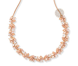 Vogue Crafts and Designs Pvt. Ltd. manufactures Gold and Druzy Necklace at wholesale price.