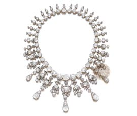 Vogue Crafts and Designs Pvt. Ltd. manufactures Designer Diamond Necklace at wholesale price.