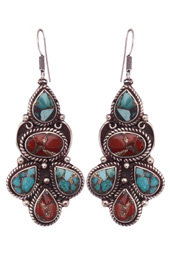 Vogue Crafts and Designs Pvt. Ltd. manufactures Triple Drop Earrings at wholesale price.