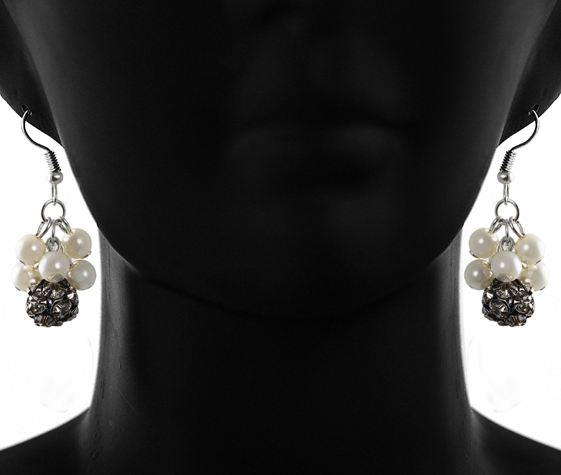 Vogue Crafts & Designs Pvt. Ltd. manufactures Shiny Disco Ball Earrings at wholesale price.