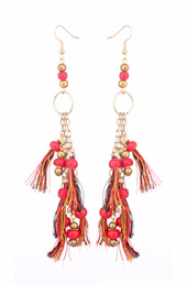 Vogue Crafts and Designs Pvt. Ltd. manufactures Beads and Tassels Earrings at wholesale price.