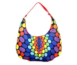 Vogue Crafts and Designs Pvt. Ltd. manufactures Multicolor Hobo Bag at wholesale price.