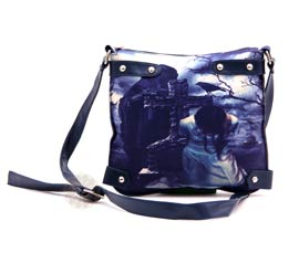 Vogue Crafts and Designs Pvt. Ltd. manufactures Blue Voguish Sling Bag at wholesale price.