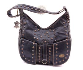 Vogue Crafts and Designs Pvt. Ltd. manufactures Stylish Brown Designer Handbag at wholesale price.