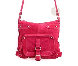 Vogue Crafts and Designs Pvt. Ltd. manufactures Pretty Pink Sling Bag at wholesale price.