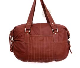 Vogue Crafts and Designs Pvt. Ltd. manufactures Formal Brown Handbag at wholesale price.