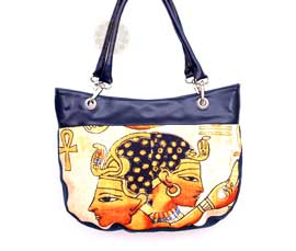 Vogue Crafts and Designs Pvt. Ltd. manufactures Egypt Fashion Theme Handbag at wholesale price.