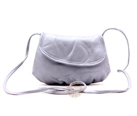 Vogue Crafts and Designs Pvt. Ltd. manufactures Smooth Grey Sling Bag at wholesale price.