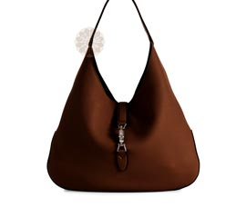 Vogue Crafts and Designs Pvt. Ltd. manufactures Brown Party Hobo Bag at wholesale price.