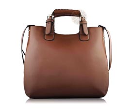 Vogue Crafts and Designs Pvt. Ltd. manufactures Ladies Leather Handbag at wholesale price.