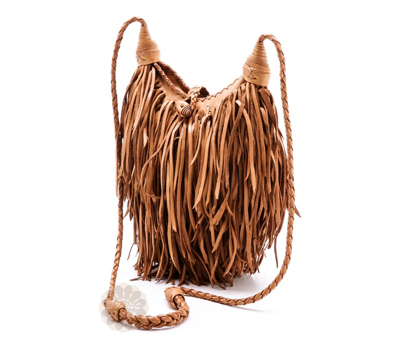 Vogue Crafts & Designs Pvt. Ltd. manufactures Boho Fringe Bag at wholesale price.