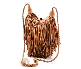 Vogue Crafts and Designs Pvt. Ltd. manufactures Boho Fringe Bag at wholesale price.