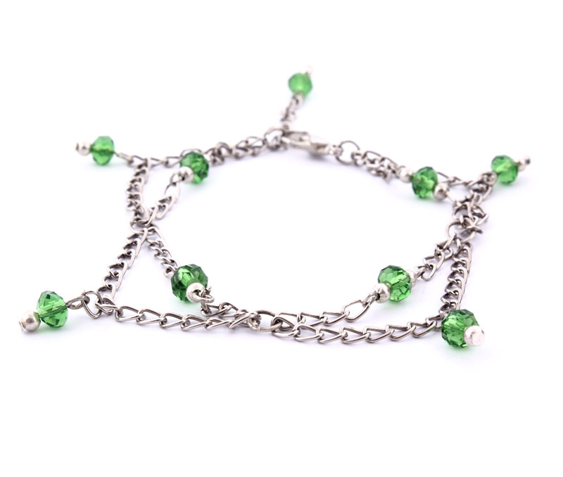 Latest Design Jewelry - Link Chain Dangle Anklet .