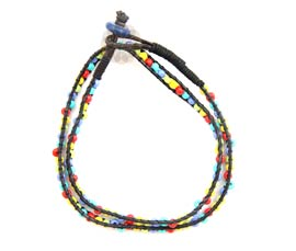Color Burst Wrap Anklet