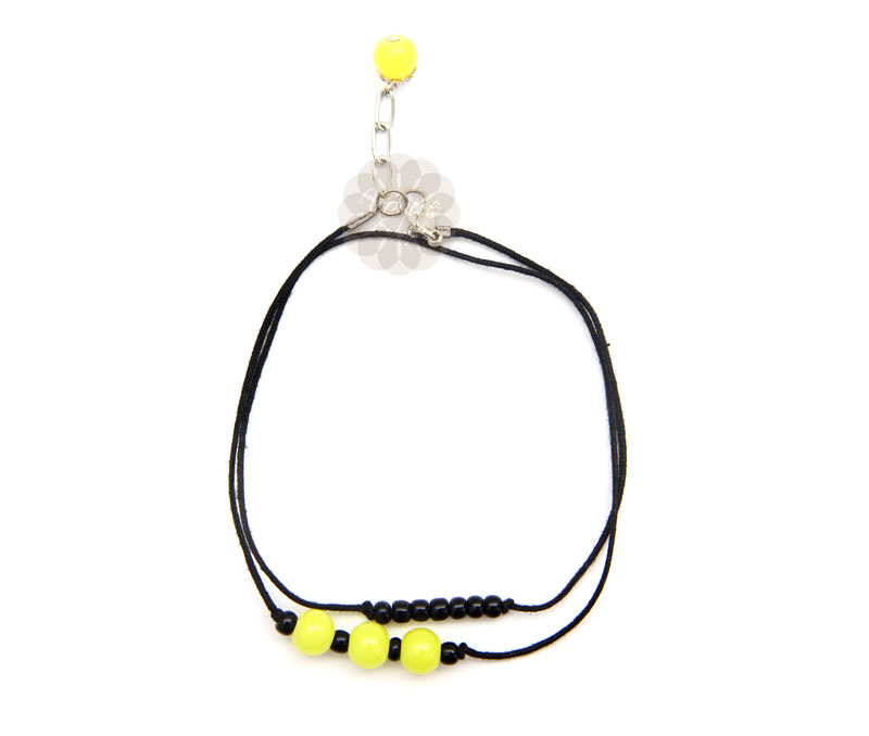 Vogue Crafts & Designs Pvt. Ltd. manufactures Triple Dose of Lemon Anklet at wholesale price.
