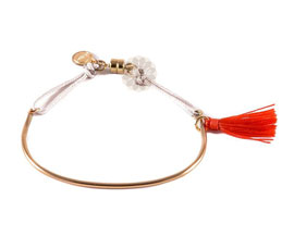 Vogue Crafts and Designs Pvt. Ltd. manufactures Tassel and Charm Anklet at wholesale price.