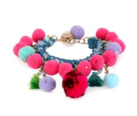 Vogue Crafts and Designs Pvt. Ltd. manufactures Multicolor Party Style Bracelet at wholesale price.