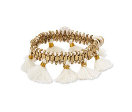 Vogue Crafts and Designs Pvt. Ltd. manufactures Famous Tassel Bracelet at wholesale price.