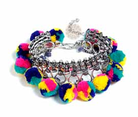 Vogue Crafts and Designs Pvt. Ltd. manufactures Spring Fashion Bracelet at wholesale price.