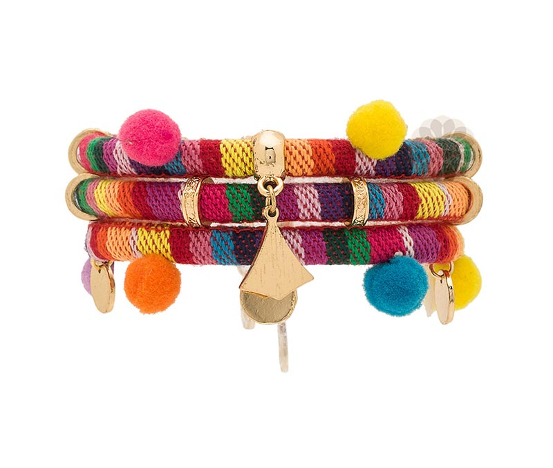 Vogue Crafts & Designs Pvt. Ltd. manufactures Multicolor Traditional Bracelet at wholesale price.