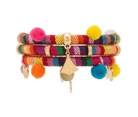 Vogue Crafts and Designs Pvt. Ltd. manufactures Multicolor Traditional Bracelet at wholesale price.