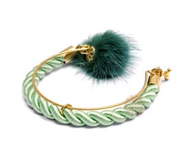 Vogue Crafts and Designs Pvt. Ltd. manufactures Twisted Open Bracelet at wholesale price.