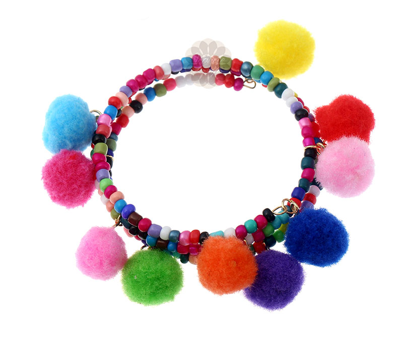 Vogue Crafts & Designs Pvt. Ltd. manufactures Pretty Beaded Multicolor Bracelet at wholesale price.