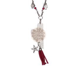 Vogue Crafts and Designs Pvt. Ltd. manufactures Heart and Charms Pendant at wholesale price.