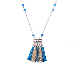 Vogue Crafts and Designs Pvt. Ltd. manufactures Stunning Tassels Pendant at wholesale price.