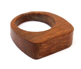 Vogue Crafts and Designs Pvt. Ltd. manufactures Rectangular Wooden Ring at wholesale price.