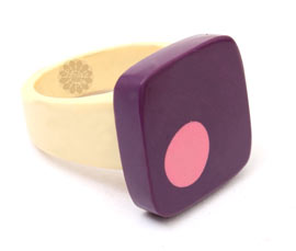Vogue Crafts and Designs Pvt. Ltd. manufactures Multicolor Statement Ring at wholesale price.