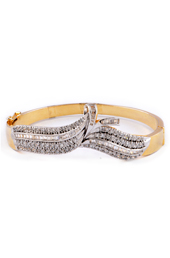 Vogue Crafts and Designs Pvt. Ltd. manufactures Adjustable Golden Bracelet at wholesale price.