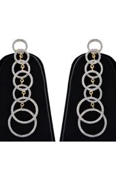 Vogue Crafts and Designs Pvt. Ltd. manufactures Rings American Diamond Dangler Earrings at wholesale price.